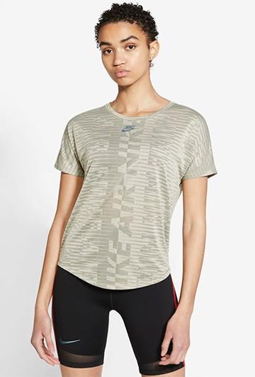 Camiseta Nike Air marrón