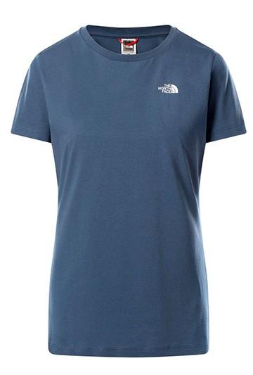 Camiseta The North Face W S/S SD azul