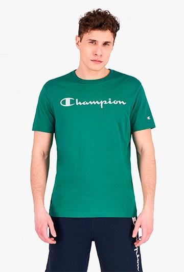 Camiseta Champion Crewneck verde