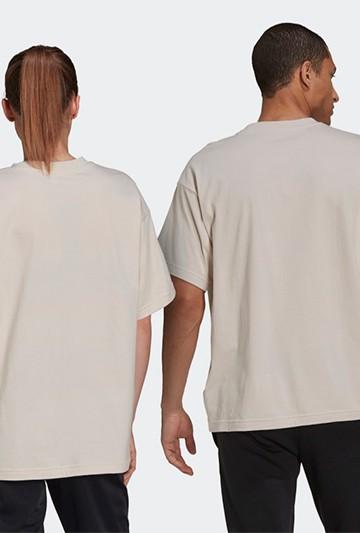 Camiseta adidas GIANT LOGO beige