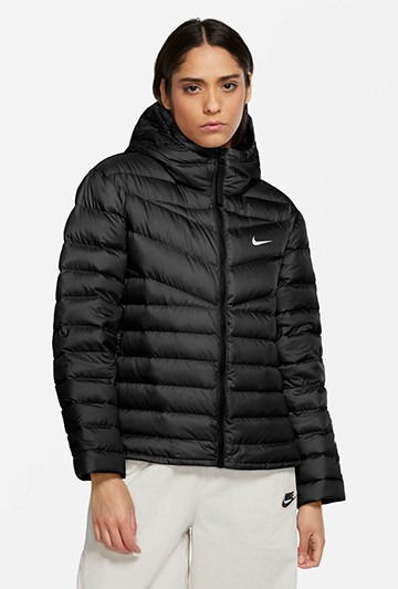 Abrigo Nike Sportswear Windrunner Women's negro