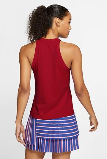 Camiseta Nike Court Dri-FIT Women's Tennis Ta roja