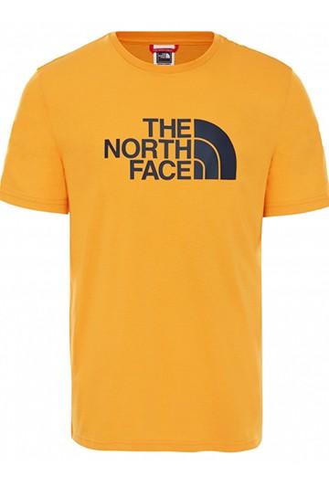 Camiseta The North Face M S/S EASY TEE - EU amarilla