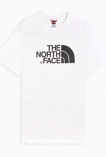 Camiseta The North Face M S/S EASY TEE - EU blanca