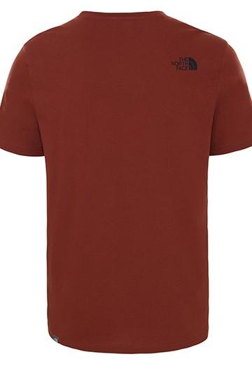 Camiseta The North Face M S/S EASY TEE - EU roja
