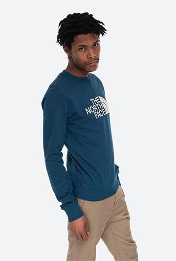 Sudadera The North Face M DREW PEAK CREW LT azul