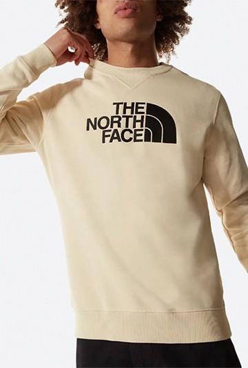 Sudadera The North Face M DREW PEAK CREW LT beige