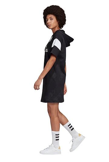 Vestido adidas W FAV HD SWT negro