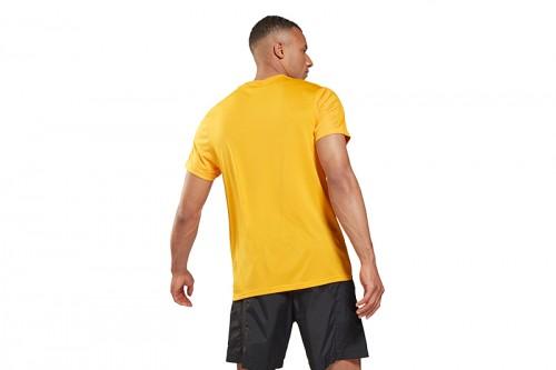 Camiseta Reebok Workout Ready Tech amarilla