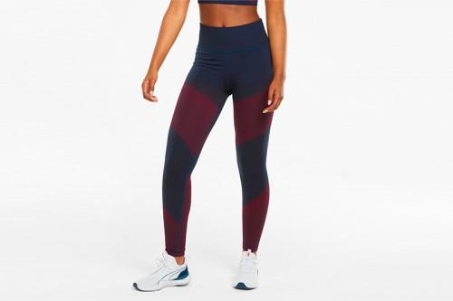 Mallas Puma entrenamiento de largo 7/8 de cintura alta sin costuras para mujer Multicolor