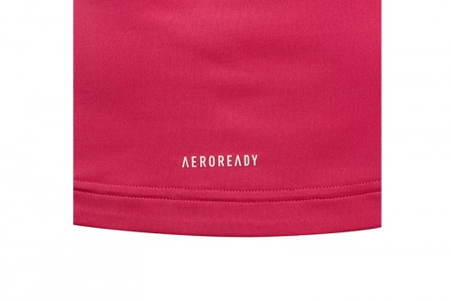 Camiseta adidas AEROREADY ANIMAL LOGO PRINT SLIM TRAINING Rosa