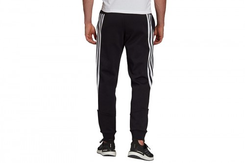 Pantalón largo adidas SPORTSWEAR FUTURE ICONS 3 BANDAS negro