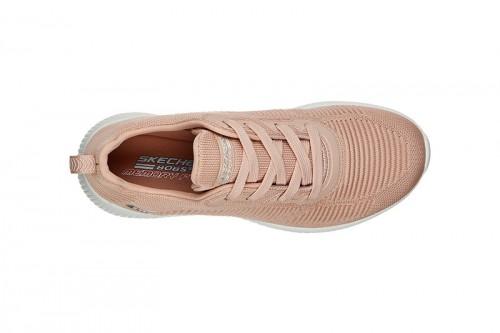 Zapatillas Skechers BOBS SQUAD - TOUGH TALK Rosas