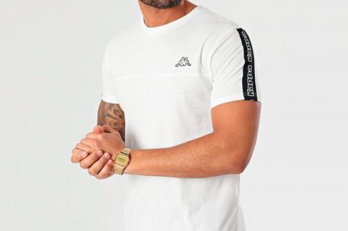 Camiseta Kappa ITAP Blanca