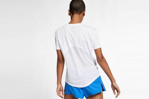 Camiseta Nike Miler blanca