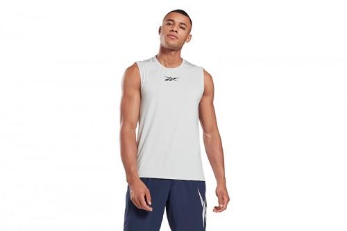 Camiseta Reebok WOR AC SLVLS gris