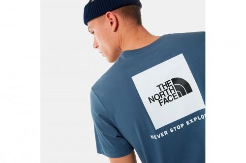 Camiseta The North Face RAGLAN EASY azul