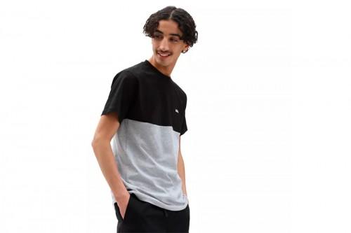 Camiseta Vans CAMISETA COLORBLOCK Negras