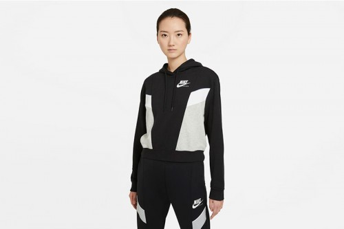 Chaqueta Nike Sportswear Heritage negra
