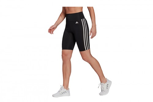 Mallas adidas CORTAS DESIGNED TO MOVE HIGH-RISE SPORT Negra
