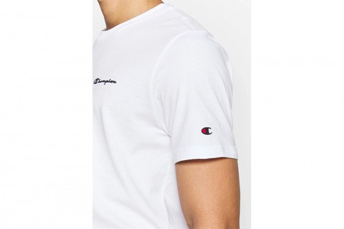 Camiseta Champion Crewneck Legacy Blancas