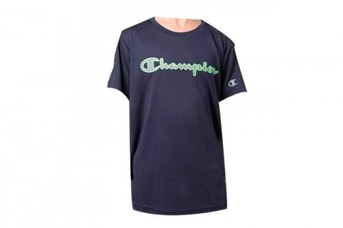 Camiseta Champion Crewneck JR azul