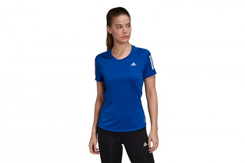 Camiseta adidas OWN THE RUN azul