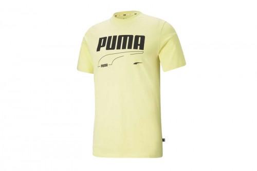 Camiseta Puma REBEL High Risk Amarillas