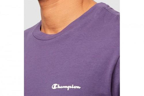 Camiseta Champion Crewneck Legacy morada