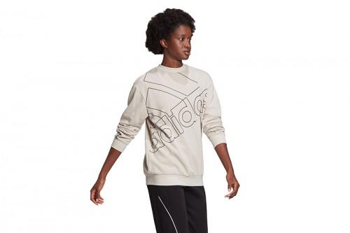 Camiseta adidas W FAV Q1 SWT Beiges