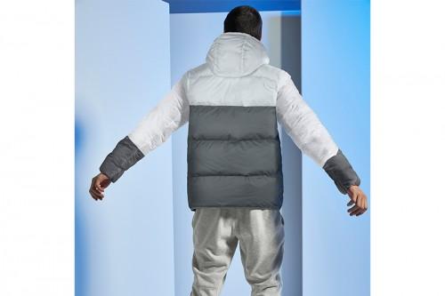Abrigo Nike Sportswear Down-Fill Windrunne azul
