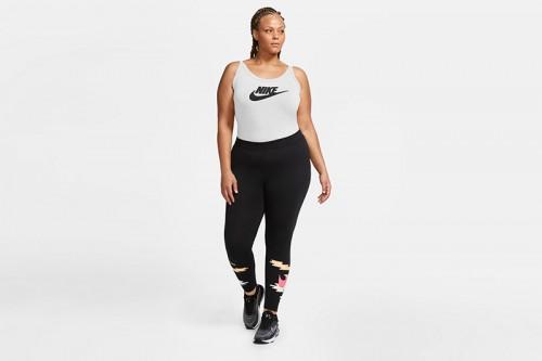Body Nike de tirantes blanco