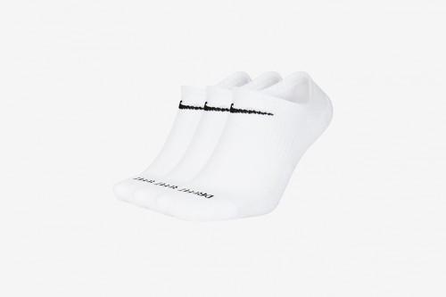 Calcetines Nike Everyday Plus Cushioned Training blancos
