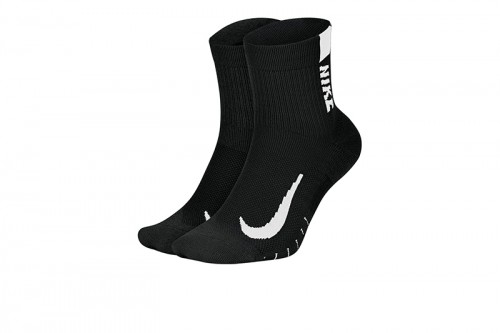 Calcetines Nike Multiplier Running Ankle Socks negros