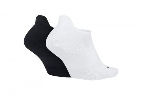 Calcetines Nike Multiplier Running No-Show Soc Blancas