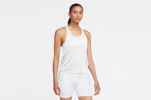 Camiseta Nike Miler Women's Running Singlet blanca