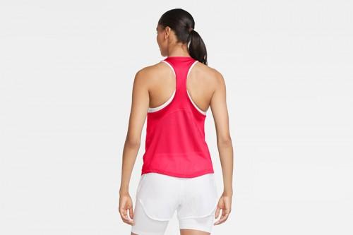 Camiseta Nike Miler Women's Running Singlet roja