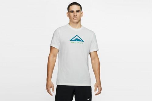 Camiseta Nike Nike Dri-FIT Trail Men's Trail Runn blanca