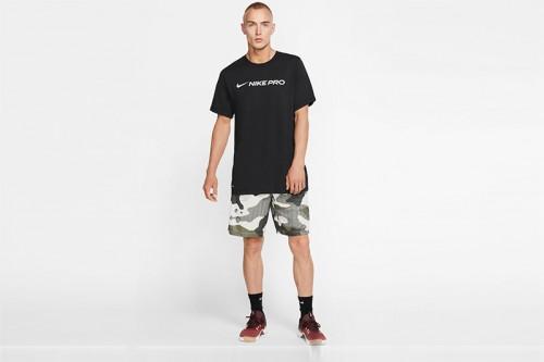 Camiseta Nike Pro Dri-FIT Men's T-Shirt Negras