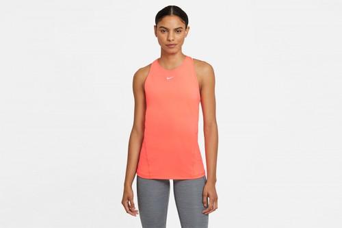 Camiseta Nike Pro naranja