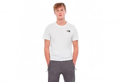 Camiseta The North Face M S/S REDBOX TEE  - EU blanca