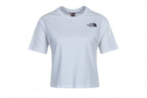 Camiseta The North Face W CROPPED SD TEE blanca