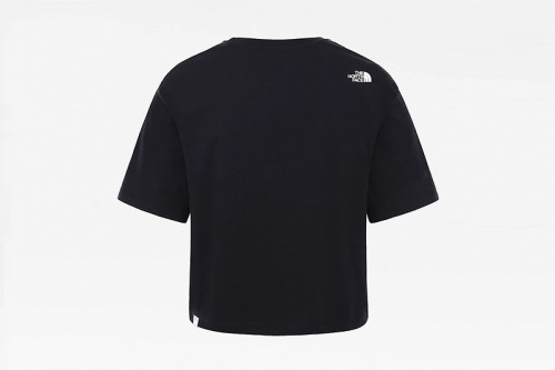 Camiseta The North Face W CROPPED SD TEE negra