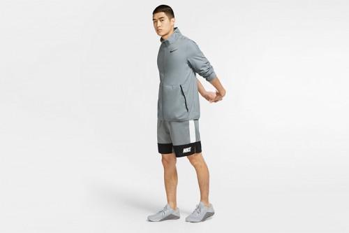 Chaqueta Nike Dri-FIT Men's Woven Training J gris