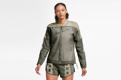 Chaqueta Nike Icon Clash Women's Running Jac verde