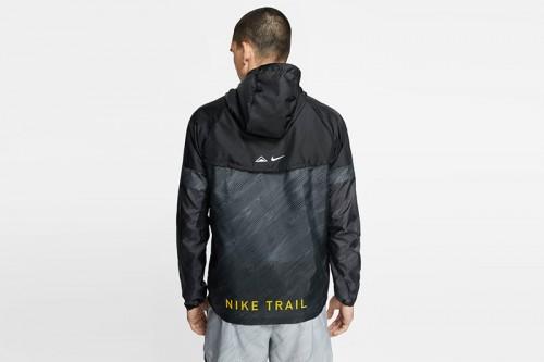 Cortavientos Nike Windrunner Men's Hooded Trail negro