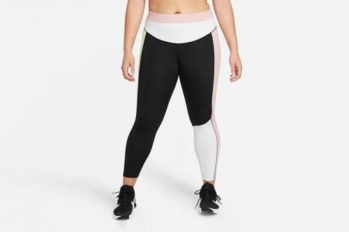 Mallas Nike One Color-Blocked 7/8 Multicolor