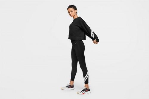 Mallas Nike Pro Women's 7/8 Graphic Tights Negras