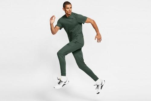 Pantalón Nike Dri-FIT Men's Fleece Training verde