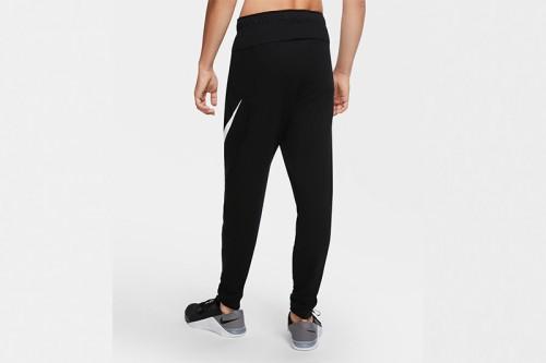 Pantalón Nike Dri-FIT Men's Tapered Training negro